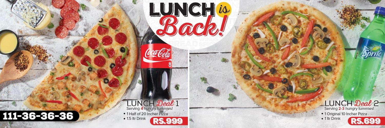 Lunch Deals