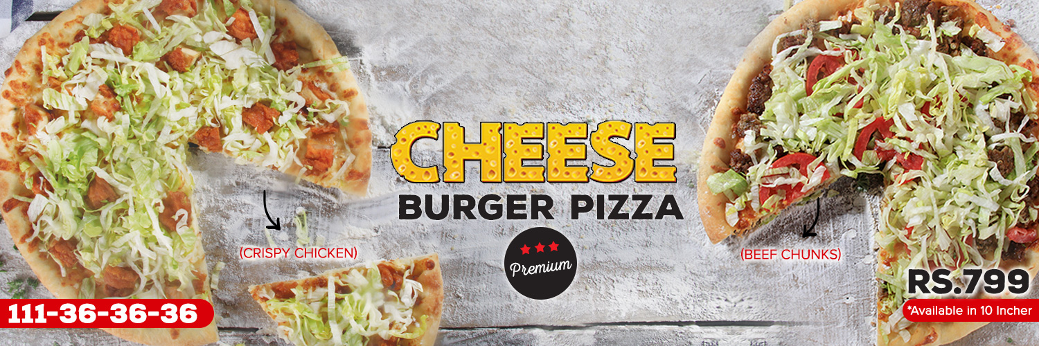 Cheese Burger Pizza